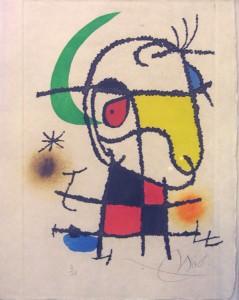 """Joan Miro: """"Vent Parmi les Roseaux"""""""