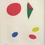 """Miro: """"Vent Parmi Les Roseaux"""" Plate 3"""